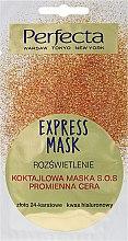 Kup Koktajlowa maska SOS Rozświetlenie i promienna cera - Perfecta Express Mask