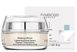 Kup Rozjaśniające serum do twarzy Biała piwonia - Symbiosis London Radiance Revive Lightening Facial Serum