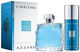 Kup Azzaro Chrome - Zestaw (edt/100ml + deo/150ml)
