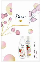Kup Zestaw - Dove Relaxing Care (sh/gel/250ml + b/balm/250ml)