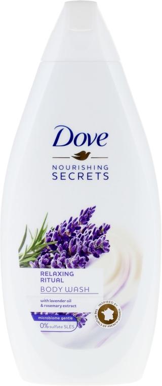 Kremowy żel pod prysznic Lawenda - Dove Nourishing Secrets Relaxing Ritual Shower Gel