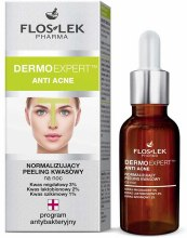 Kup Peeling kwasowy normalizujący na noc - Floslek Dermo Expert Anti Acne Peeling