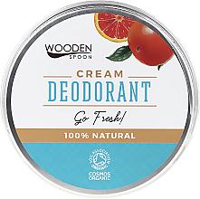 Kup PRZECENA! Naturalny dezodorant w kremie - Wooden Spoon Go Fresh Cream Deodorant *