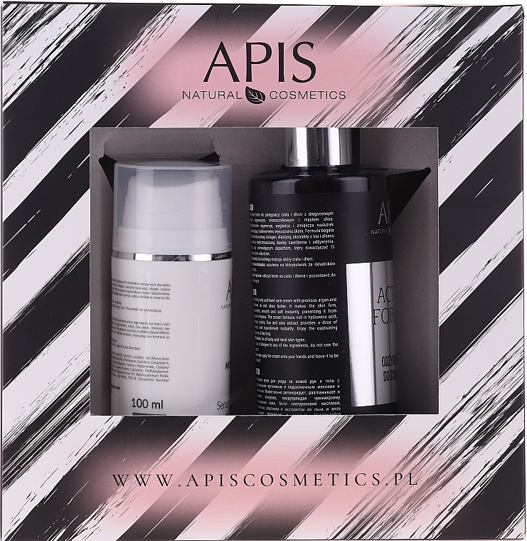 Zestaw - APIS Professional For Men (h/b/cr 300 ml + ser 100 ml)