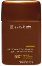 Kup Sztyft ochronny do wrażliwych stref - Academie Sun Stick Sensitive Areas SPF 50+