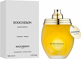Boucheron Pour Femme - Woda perfumowana (tester z nakrętką) — фото N2