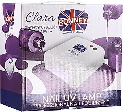 Kup Lampa UV do paznokci, różowa - Ronney Professional Clara UV 36W (GY-UV-818) Lamp