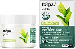 Kup Matujący krem normalizujący - Tołpa Green Matowienie