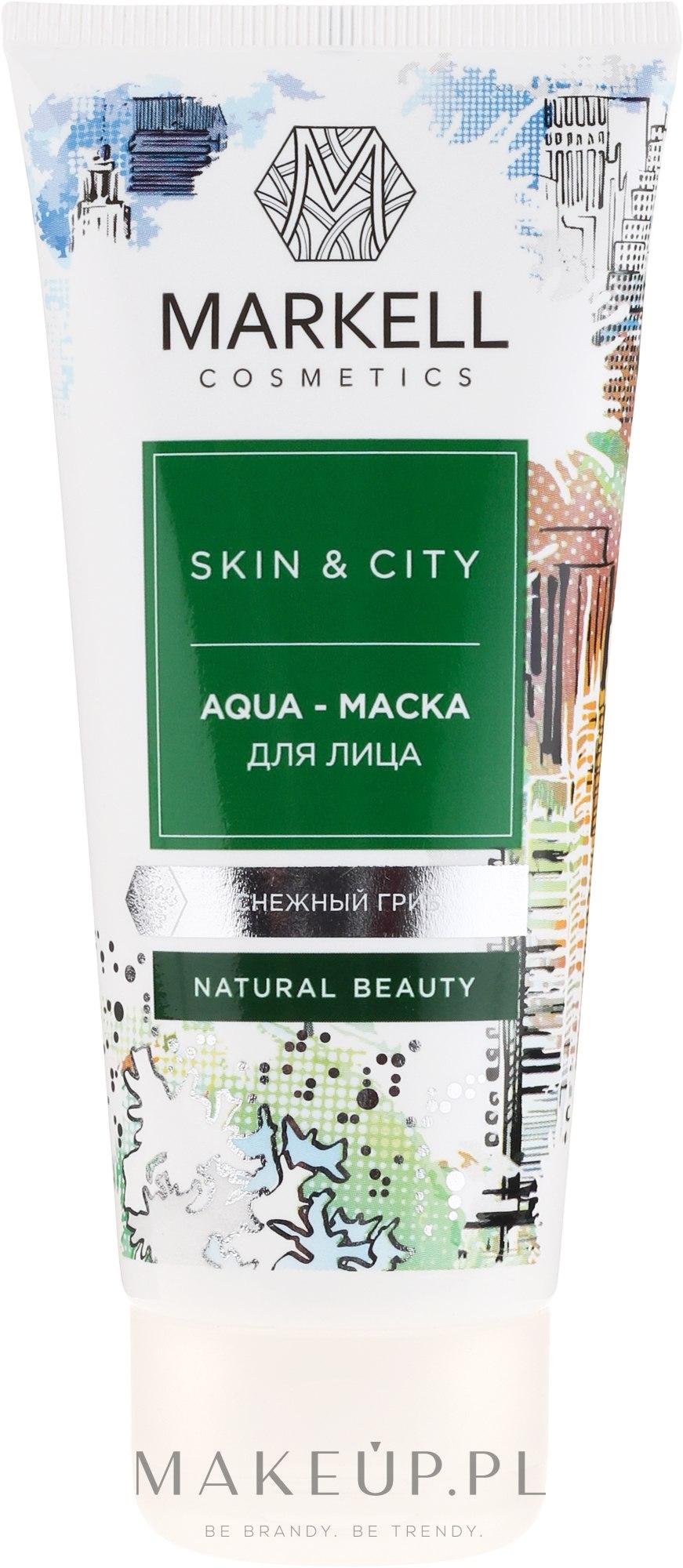 Hydromaska do twarzy Trzęsak morszczynowaty - Markell Cosmetics Skin & City Face Mask — фото 100 ml