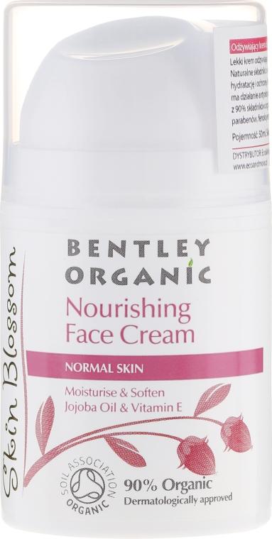 Odżywczy krem do twarzy - Bentley Organic Skin Blosso Nourishing Face Cream — фото N1
