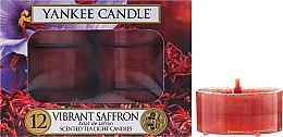Podgrzewacze zapachowe tealight - Yankee Candle Scented Tea Light Vibrant Saffron — фото N1