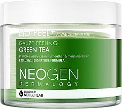 Kup Płatki peelingujące do oczyszczania twarzy z ekstraktem z zielonej herbaty - Neogen Dermalogy Bio Peel Gauze Peeling Green Tea