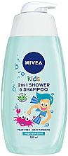 Kup PRZECENA! Żel 2 w 1 dla dzieci do mycia ciała i włosów o zapachu jabłkowych karmelków - Nivea Kids Magic Apple *