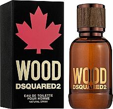 Dsquared2 Wood Pour Homme - Woda toaletowa — фото N1