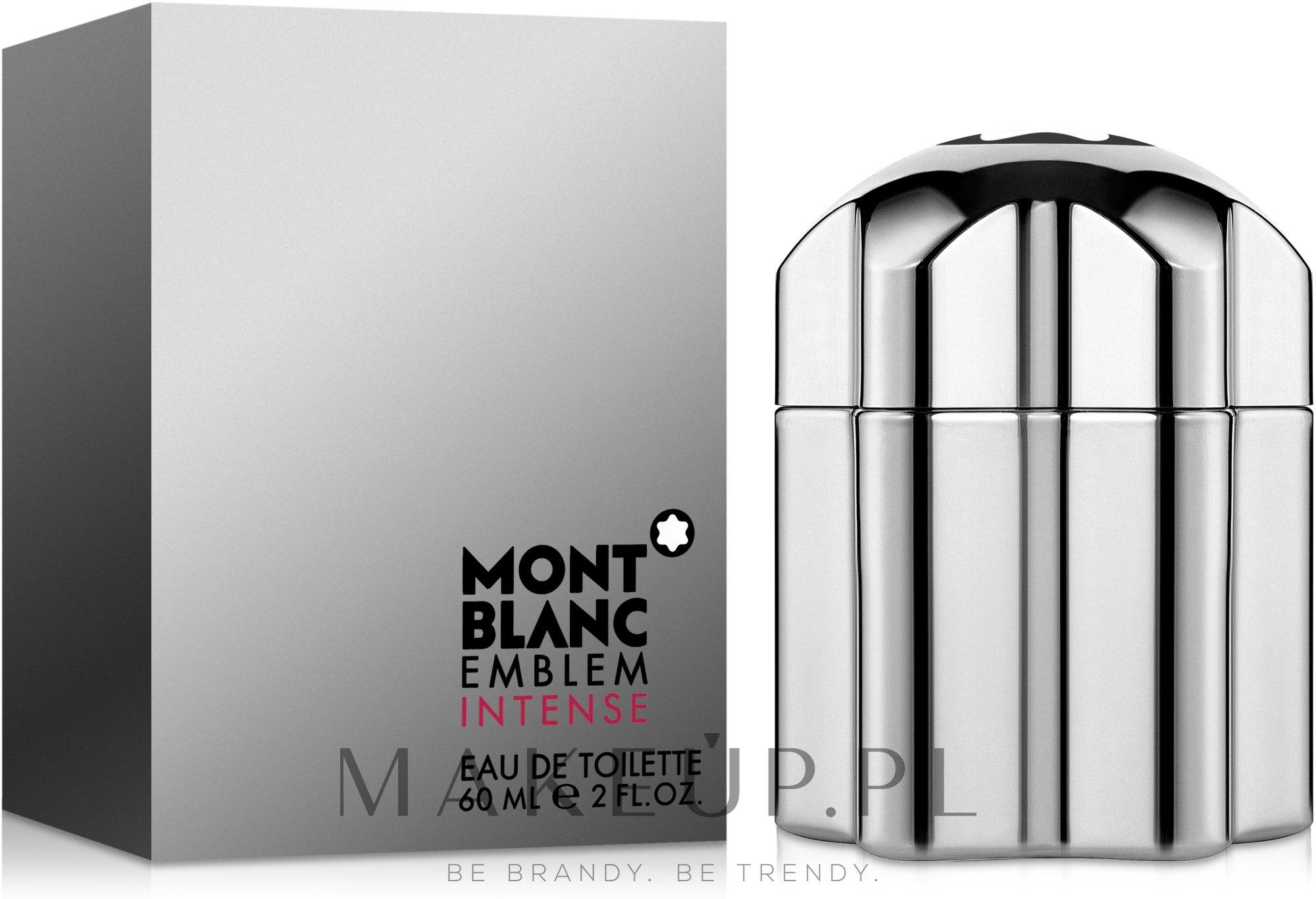 Montblanc Emblem Intense - Woda toaletowa — фото 60 ml