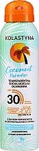Kup Transparentna sucha mgiełka ochronna - Kolastyna Coconut Paradise SPF30