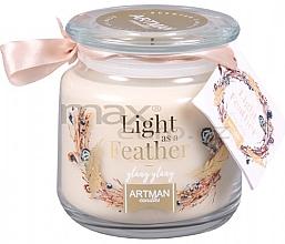 Kup Świeca zapachowa w słoiku - Artman Light As Feather