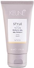 Kup Żel do włosów o potrójnym działaniu - Keune Style Triple X Gel Travel Size
