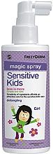 Kup Spray dla dzieci ułatwiający rozczesywanie włosów - Frezyderm Sensitive Kids Magic Spray for Girls