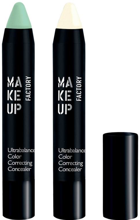 Korektor do twarzy - Make Up Factory Ultrabalance Color Correcting Concealer — фото N2