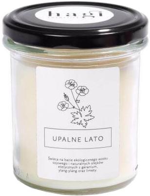 Sojowa świeca zapachowa Upalne lato - Hagi Piąty żywioł