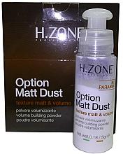 Kup PRZECENA! Puder dodający włosom objętości - H.Zone Option Matt Dust *