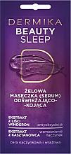 Kup Odświeżająco-kojąca żelowa maseczka do cery naczynkowej i wrażliwej - Dermika Beauty Sleep