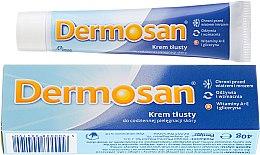 Kup Tłusty krem do codziennej pielęgnacji skóry twarzy i ciała - Dermosan Face & Body Cream