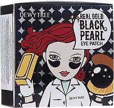 Kup Hydrożelowe płatki z kawiorem i wyciągiem z czarnych pereł - Dewytree Real Gold Black Pearls Eye Patch
