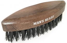 Kup Drewniana szczotka podróżna do brody - Man'S Beard Travel Beard Brush Without Wooden Handle