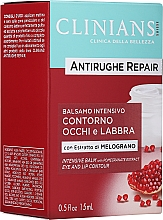 Kup Przeciwzmarszczkowy balsam do ust i powiek Ekstrakt z granata - Clinians Antirughe Quotidiana