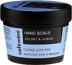 Kup Peeling do rąk Sól morska i migdał - Cafe Mimi Hand Scrub