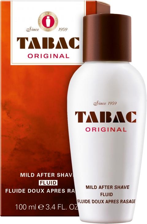 Maurer & Wirtz Tabac Original Mild After Shave Fluid - Delikatny fluid po goleniu — фото N1