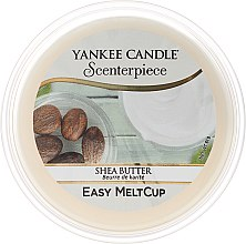 Wosk zapachowy - Yankee Candle Shea Butter Scenterpiece Melt Cup — фото N1