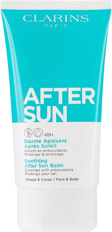 Łagodzący balsam po opalaniu do twarzy i ciała - Clarins Soothing After Sun Balm 48H — фото N1