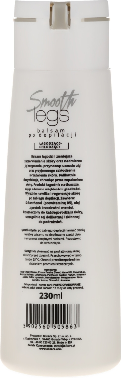 Balsam po depilacji nóg - Silcare Smooth Legs Balsam After Depilation — фото N2