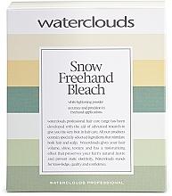 Kup Rozjaśniający puder do włosów - Waterclouds Snow Bleach Freehand