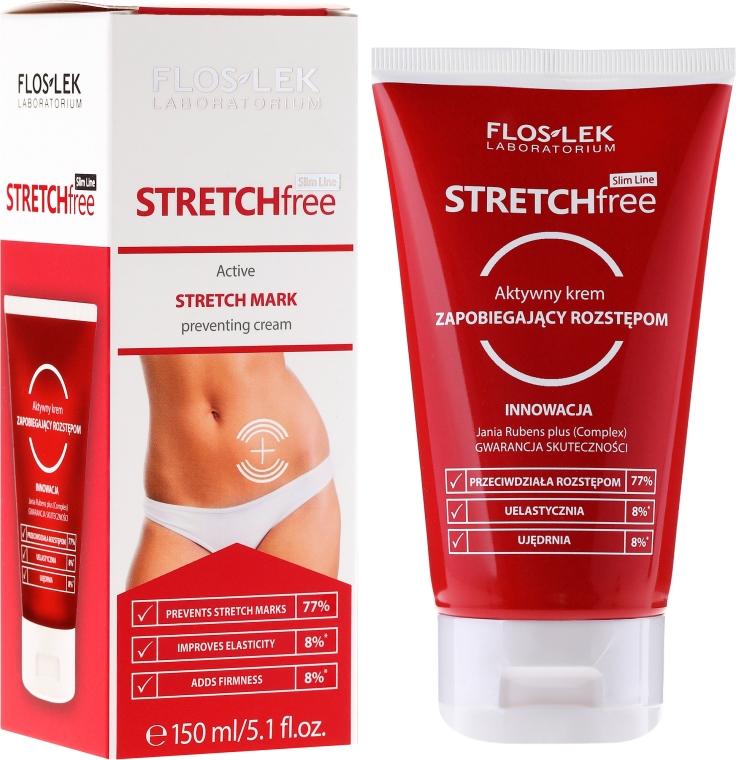 Aktywny krem zapobiegający rozstępom - Floslek Slim Line Stretch Free