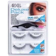 Kup Zestaw sztucznych rzęs - Ardell Deluxe Pack 110 Black