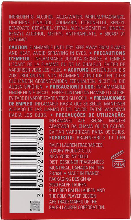 PRZECENA! Ralph Lauren Polo Red - Woda perfumowana * — фото N2