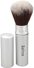 Kup Pędzel do makijażu - Sefiros Silver Retractable Brush