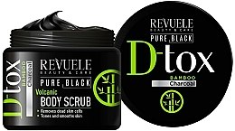 Kup Peeling do ciała - Revuele Pure Black Detox Volcanic Body Scrub