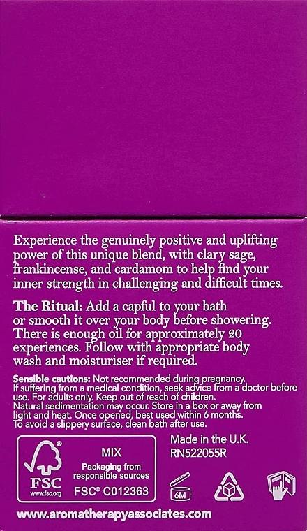 Olejek do kąpieli i pod prysznic - Aromatherapy Associates Inner Strength Bath & Shower Oil — фото N3