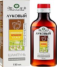 Kup Szampon cebulowy z kompleksem witamin - Mirrolla
