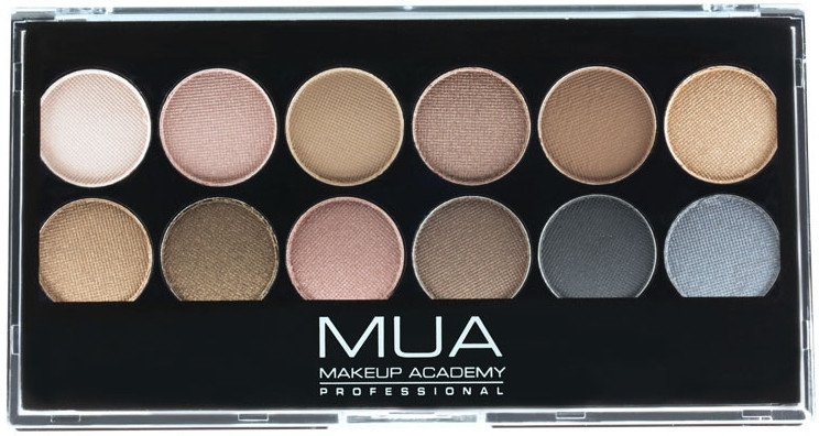 Paletka cieni do powiek - MUA Undressed Eyeshadow Palette