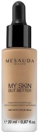 Płynny podkład wygładzający do twarzy - Mesauda Milano My Skin But Better