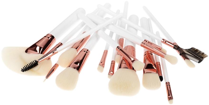 Zestaw pędzli do makijażu, 18 szt. - Tools For Beauty — фото N2