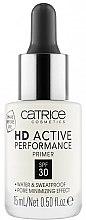Baza pod makijaż minimalizująca widoczność porów SPF 30 - Catrice HD Active Performance Primer — фото N1