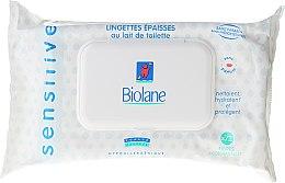 Kup Chusteczki dla dzieci dla skóry wrażliwej - Biolane Baby Napkins Sensitive