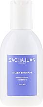 Kup PRZECENA! Szampon do siwych włosów - Sachajuan Stockholm Silver Shampoo  *